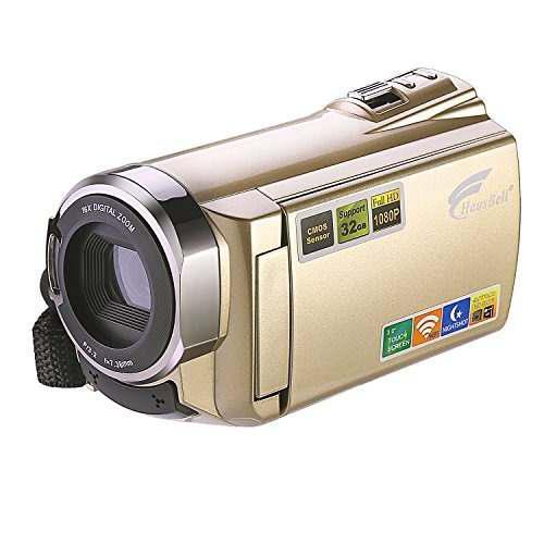 Videocámara hausbell hd 1920x1080p pantalla táctil