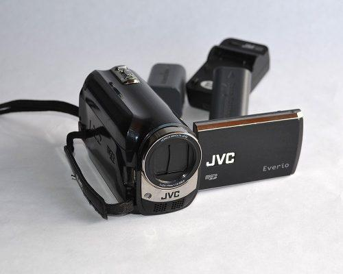 Videocámara jvc everio 80gb internos, incluye 2 baterías