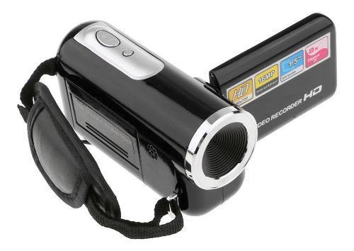 Videocámara portátil hd 8x zoom digital cámara de vídeo