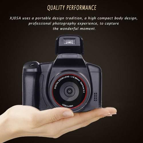 Videocámara profesional completa hd 16x zoom 12 megapixeles