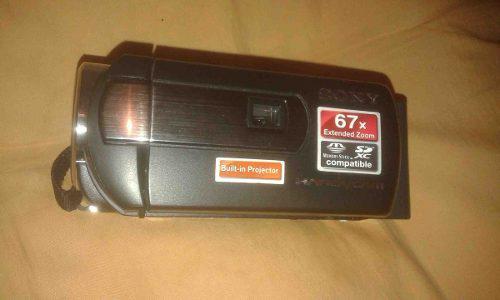 Videocámara sony dcr - pj5 - proyector integrado - 7.1 mpx