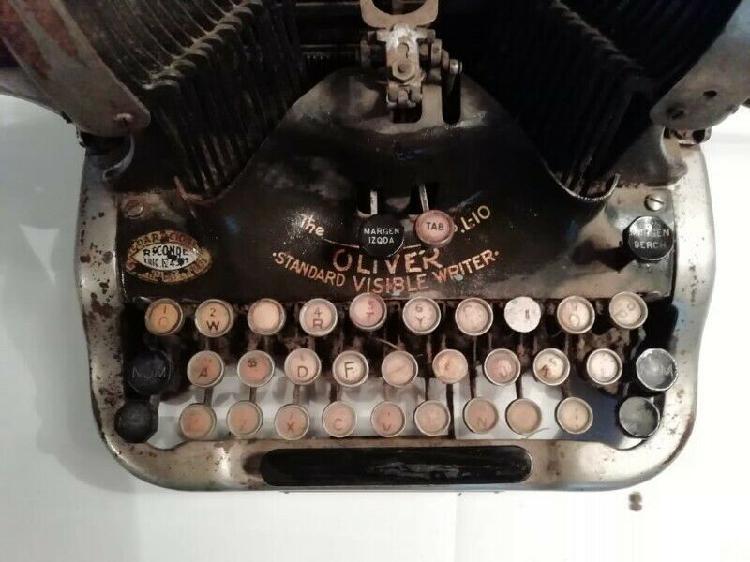 Atención coleccionistas vendo preciosa máquina de escribir