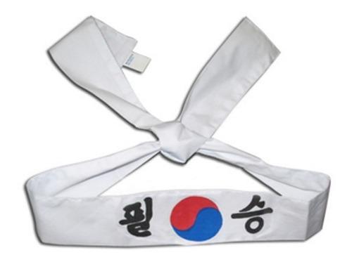 Banda para la cabeza de artes marciales asiana con envio