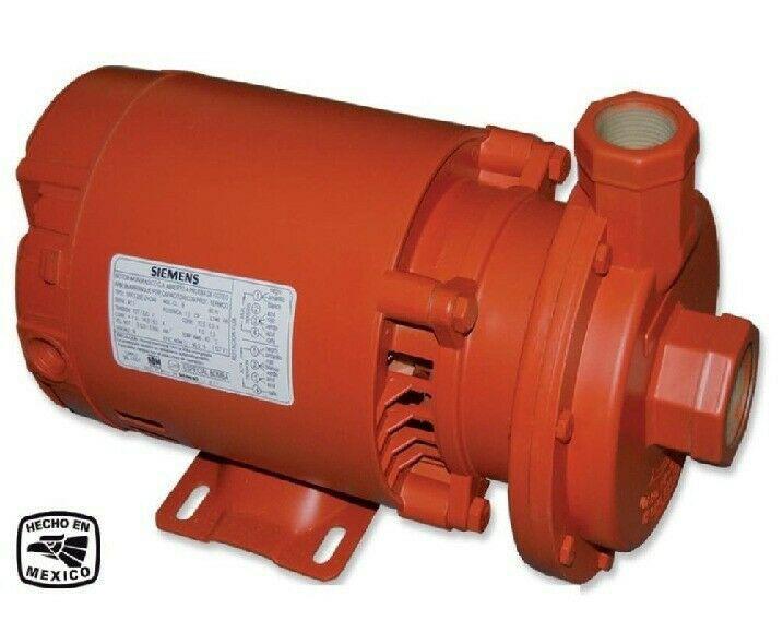 Bomba agua siemens 3/4 hp
