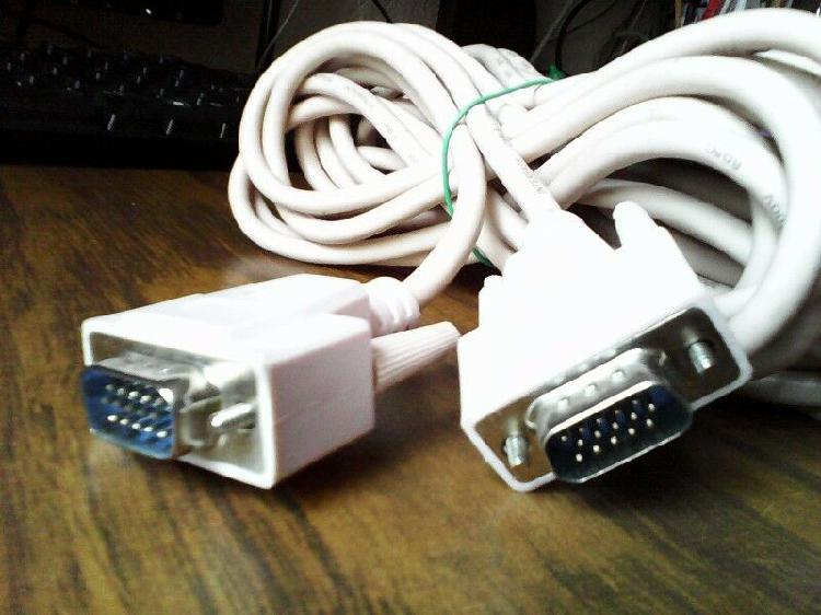Cable vga (para monitor o tv) de 7.5 mts