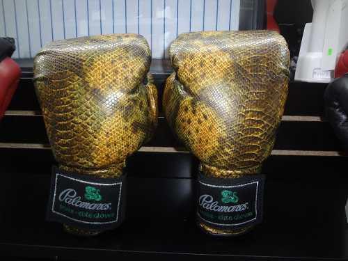 Guantes box edicion snake miel 12, 14 y 16 oz palomares fpx
