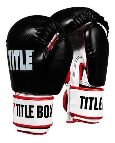 Guantes de box entrenamiento 12oz 14oz title vengeance