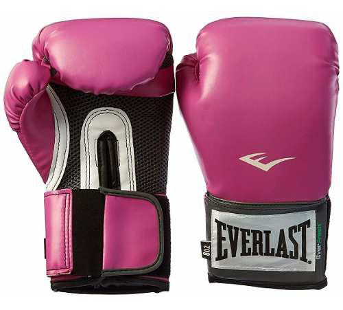 Guantes de box everlast rosa mujer prostyle 8 onzas