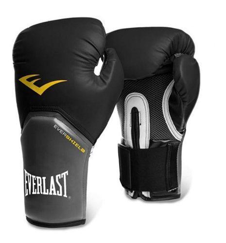 Guantes de boxeo everlast prostyle negro 12 oz envio gratis