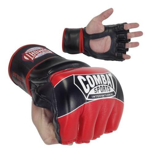 Guantes mma artes marciales ufc combat rojo guante