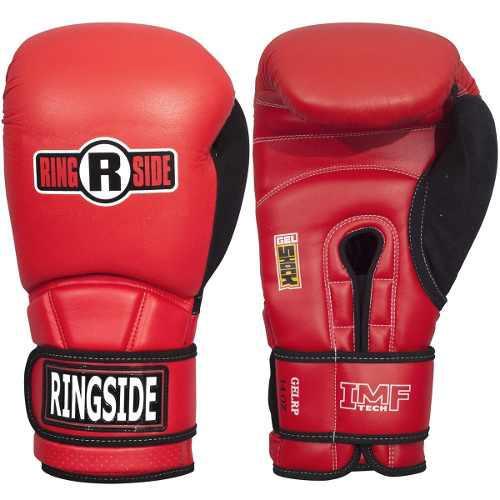 Guantes ringside original boxeo gel pro shock sparring rojo