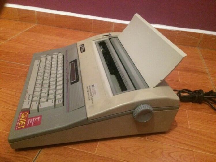 Máquina de escribir eléctrica smith corona xd 4950