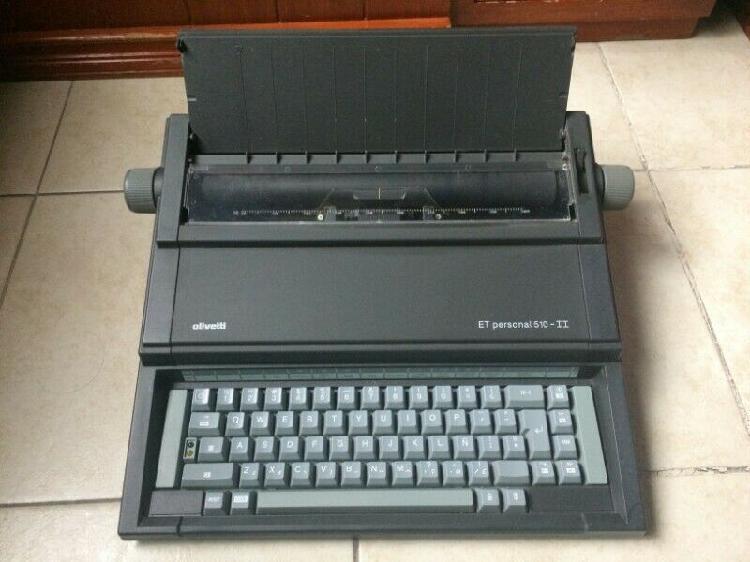Máquina de escribir eléctrica olivetti et personal 510-ii