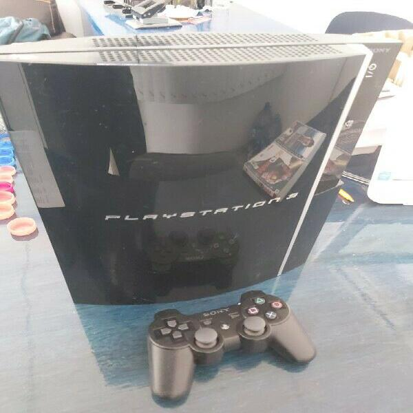 Play station 3 sony 40 gb. con 2 jgos. orig.