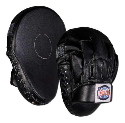 Par de manoplas mitts combat box mma muay thai kick boxing