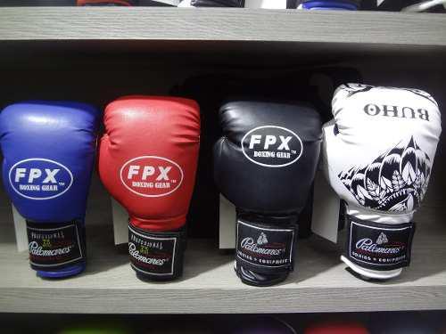 Par guantes box boxing gear palomares genuino fpx