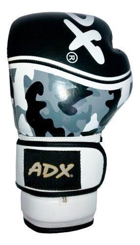 Par guantes box entrenamiento adx kombat piel desodorizante