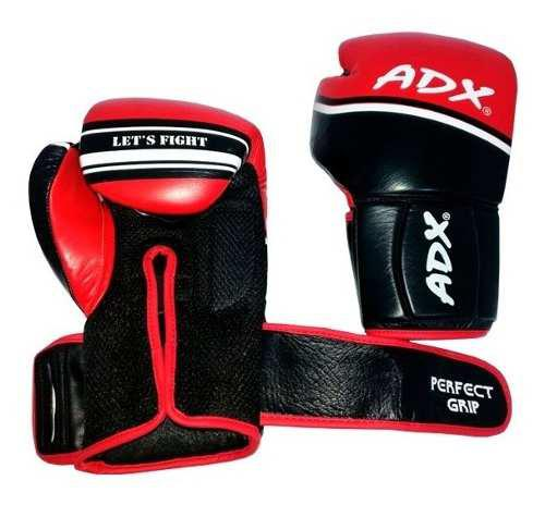 Par guantes box entrenamiento adx perfect grip piel