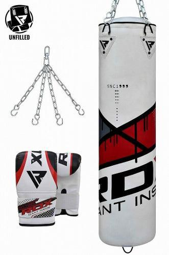 Rdx boxeo pesado saco arena,guantes,cadena mma entrenamiento