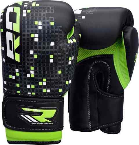 Rdx guantes de boxeo 6 oz para niños jbr-8