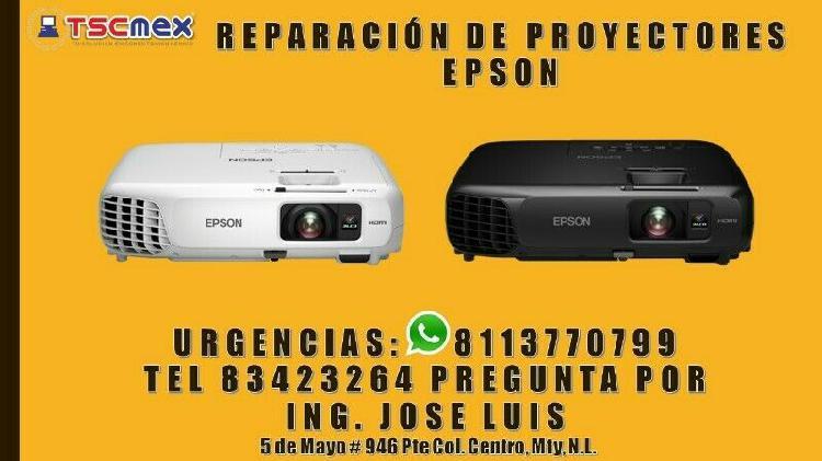 Reparación de proyectores epson