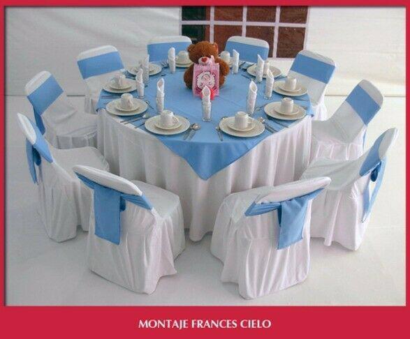Todo para tu fiesta: mesas y sillas