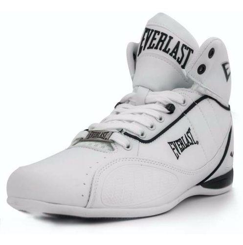 Tenis everlast blanco bota punch 1 box gym