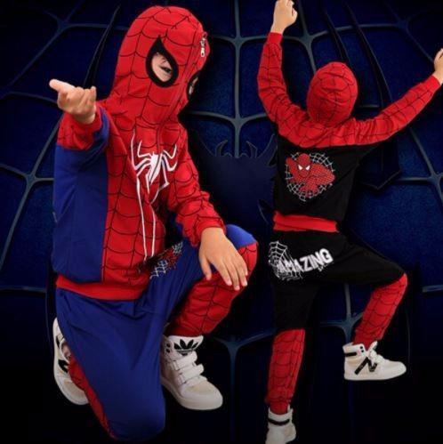 Traje de hombre araña spiderman tallas de 3 a 8 años