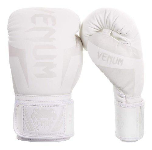 Venum elite guantes de boxeo mma blancos 8 oz