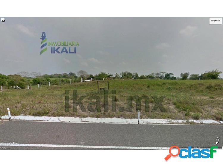 Venta terreno 2.3 hectáreas libramiento portuario tuxpan veracruz, la victoria