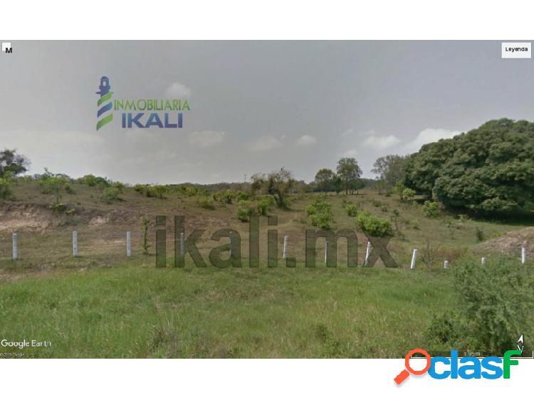 Venta terreno 8.7 hectáreas libramiento portuario tuxpan veracruz, la victoria