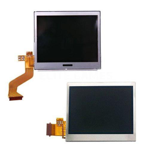 2x pantallas lcd nintendo ds lite superior e inferior