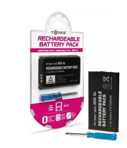 Batería recargable para nintendo 3ds xl original tomee