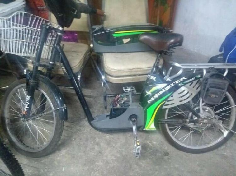Bicicleta Electrica para reparar