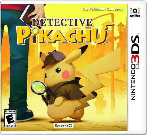 Detective pikachu::.. para 3ds start games a meses