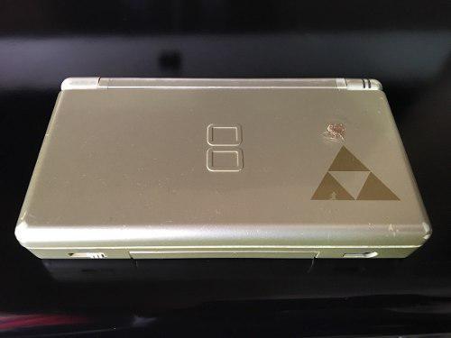 Nintendo ds lite edicion zelda funcionando
