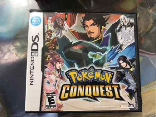 Pokémon conquest nintendo nds original * r g gallery
