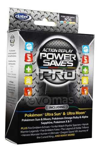 Power saves pro action replay para 3ds 2ds datel pokemon vv4