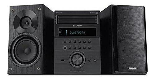 Sharp xl-bh250 sharp 5-disc micro shelf sistema de parlantes