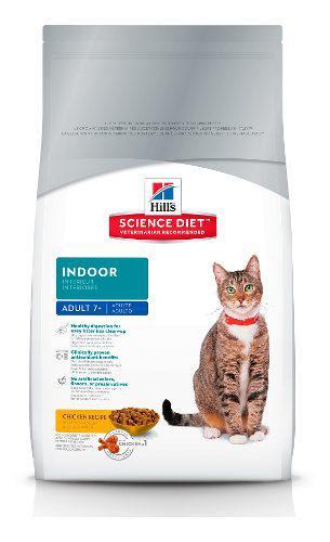 Alimento croquetas gato adulto senior indoor 3 kg hill's