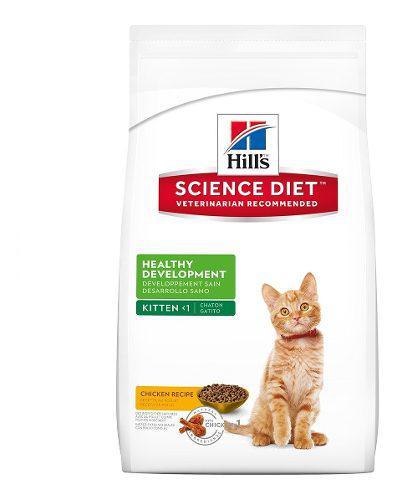 Alimento gato 1 año edad higado pollo 3 kg hill's