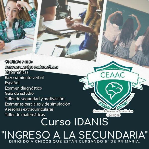 Curso de ingreso a secundaria (idanis)