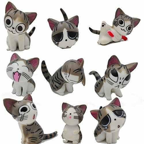 Chi cat juguetes 9pcs japonés cute chi la colección
