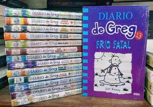 Colección 15 libros diario de greg originales + mini jenga