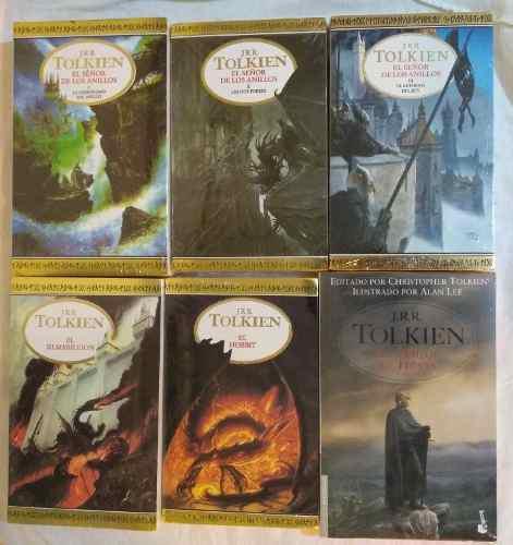 Colección señor de los anillos 7 libros