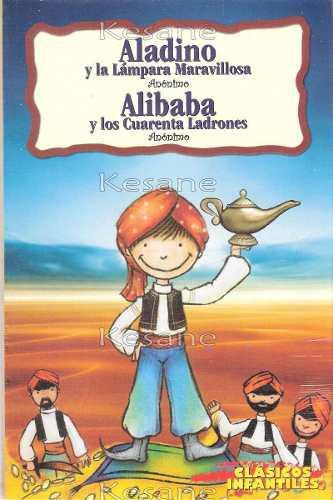 Cuentos infantiles aladino /ali baba y los 40 ladrones libro