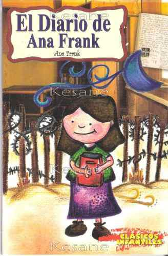 Cuentos infantiles libro el diario de ana frank niños