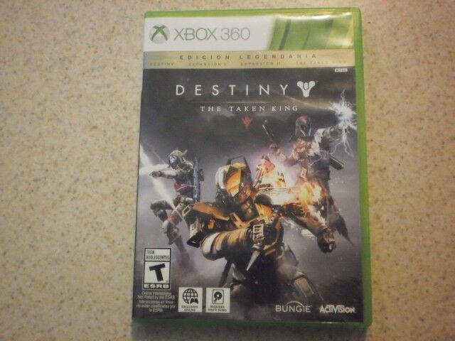 Destiny edición legendaria para xbox 360