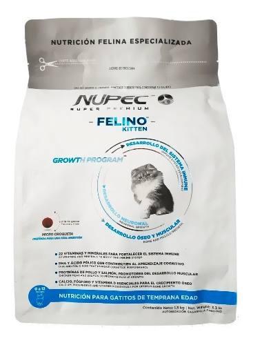 Felino kitten nupec 1.5 kg - alimento para gato - nuevo