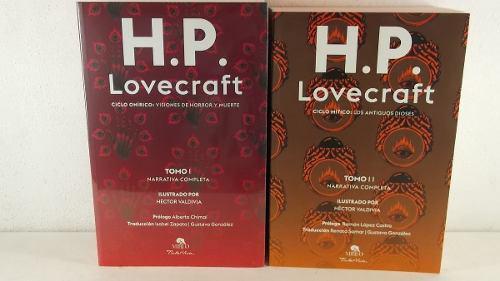 H.p lovecraft narrativa completa 2 tomos obras completas